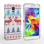 Caseflex Samsung Galaxy S5 Christmas Heart Reindeer Tree Jumper Hard Case