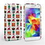Caseflex Samsung Galaxy S5 Retro Game Christmas Presents And Pudding Hard Case