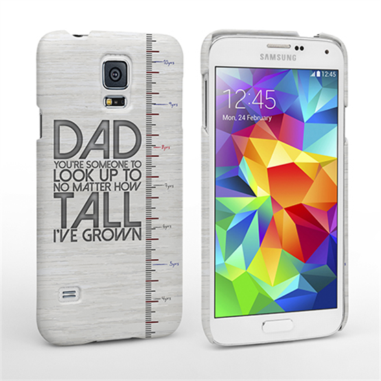 Caseflex Samsung Galaxy S5 Dad Growing Up Quote Case/Cover