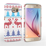 Caseflex Samsung Galaxy S6 Christmas Heart Reindeer Tree Jumper Hard Case