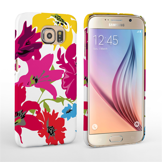 Caseflex Samsung Galaxy S6 Retro Flower Bouquet Case