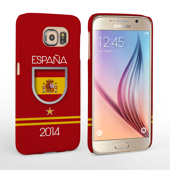 Caseflex Samsung Galaxy S6 Espana World Cup Case