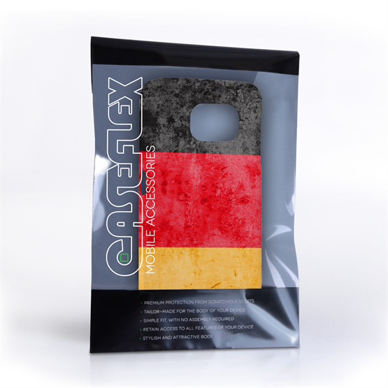 Caseflex Samsung Galaxy S6 Retro Germany Flag Case