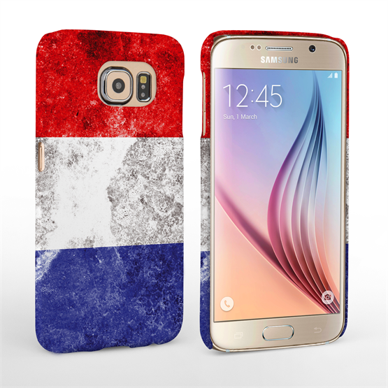 Caseflex Samsung Galaxy S6 Retro Holland Flag Case