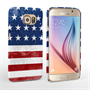 Caseflex Samsung Galaxy S6 Retro USA Flag Case