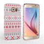 Caseflex Samsung Galaxy S6 Fairisle Case – Red, White and Grey