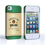 Caseflex iPhone 4 / 4S Irish Whiskey Quote Hard Case – Green