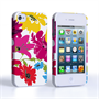 Caseflex iPhone 4 / 4S Retro Flower Bouquet Case