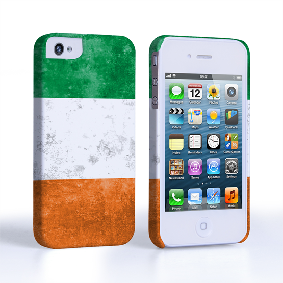 Caseflex iPhone 4/4s Retro Ireland Flag Case