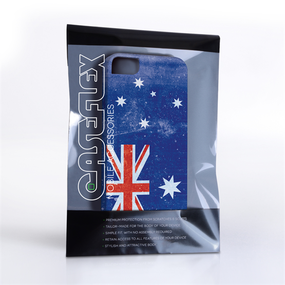 Caseflex iPhone 4/4s Retro Australia Flag Case