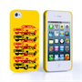 Caseflex Chevrolet Chevelle Classic Car iPhone 4 / 4S Case- Yellow