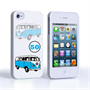 Caseflex VW Camper Van Classic Car iPhone 4 / 4S Case