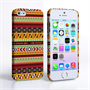 Caseflex iPhone 5 / 5S Aztec Earthy Pattern Hard Case
