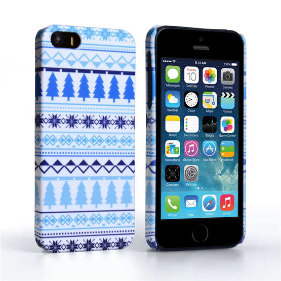 Caseflex iPhone 5 / 5S Christmas Tree Pattern Case