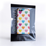 Caseflex iPhone 5 / 5S Polka Hearts Pastel Case
