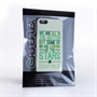 Caseflex iPhone 5 / 5S Wilde Stars Quote Hard Case – White and Green