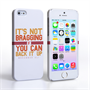Caseflex iPhone SE Muhammad Ali Quote Case