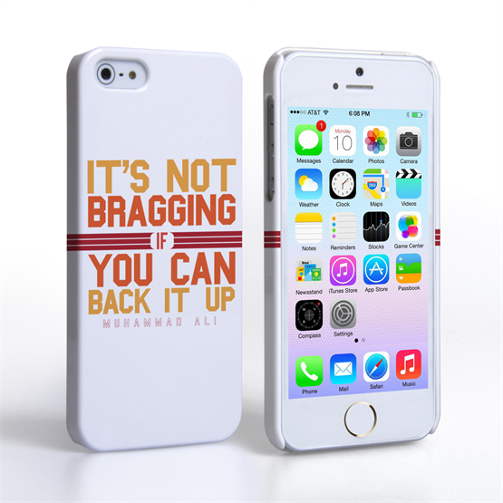 Caseflex iPhone 5 / 5S Muhammad Ali Quote Case