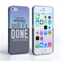 Caseflex iPhone 5 / 5S Nelson Mandela Quote Case