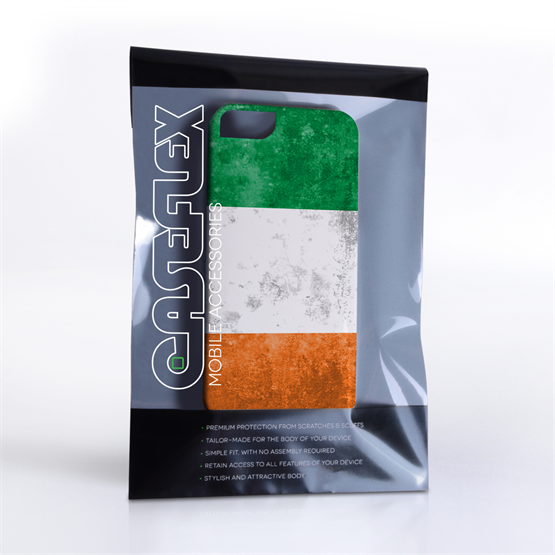 Caseflex iPhone SE Retro Ireland Flag Case