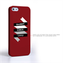 Caseflex Daddy Custom Year iPhone 5 / 5S Case - Red