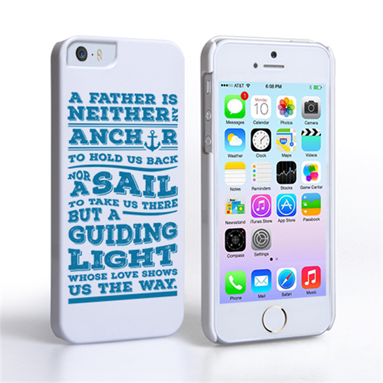 Caseflex Father Sail Quote iPhone 5 / 5S Case