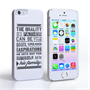 Caseflex Father Family Quote iPhone 5 / 5S Case
