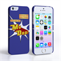 Caseflex My Dad Hero Cartoon iPhone 5 / 5S Case – Blue