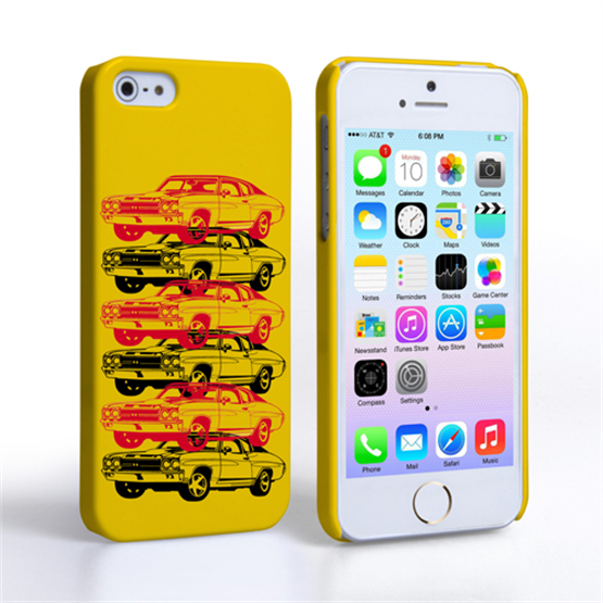 Caseflex Chevrolet Chevelle Classic Car iPhone 5 / 5S Case- Yellow