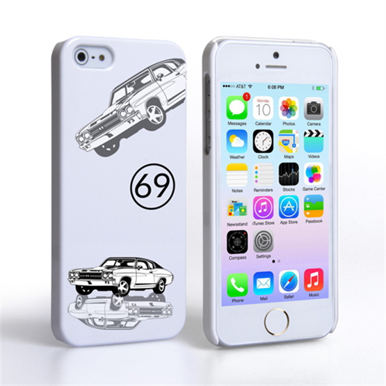 Caseflex Chevrolet Chevelle Classic Car iPhone 5 / 5S Case- White