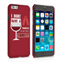 Caseflex iPhone 6 and 6s 'Really Thirsty' Quote Hard Case – Red