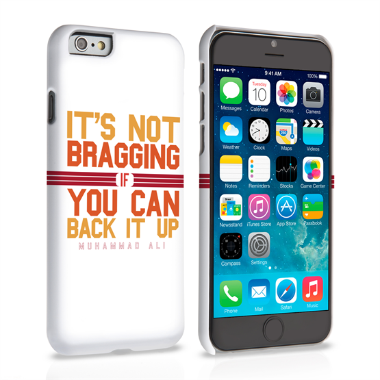 Caseflex iPhone 6 and 6s Muhammad Ali Quote Case