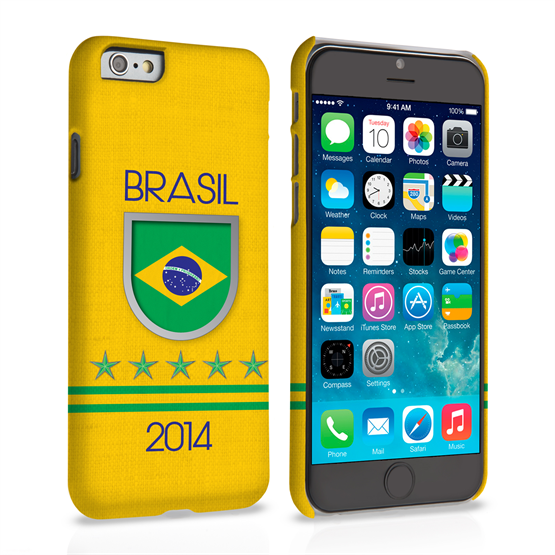 Caseflex iPhone 6 and 6s Brazil World Cup Case