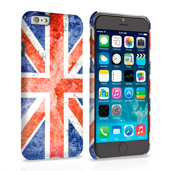 Caseflex iPhone 6 and 6s Retro Union Jack Flag Case