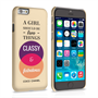 Caseflex iPhone 6 and 6s Chanel 'Classy and Fabulous' Quote Case