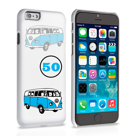 Caseflex VW Camper Van Classic Car iPhone 6 and 6s Case