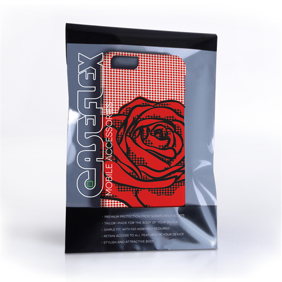 Caseflex iPhone 6 and 6S Pop Art Rose Case