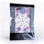 Caseflex iPhone 6 Plus and 6s Plus Winter Christmas Snowflake Hard Case - Purple / Blue