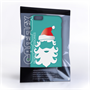 Caseflex iPhone 6 Plus and 6s Plus Christmas Santa Claus Hard Case