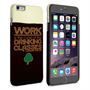 Caseflex iPhone 6 Plus and 6s Plus Wilde Drinking Classes Quote Hard Case - Black