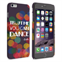 Caseflex iPhone 6 Plus and 6s Plus Vodka Dance Quote Hard Case – Purple