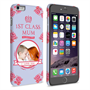 Caseflex iPhone 6 and 6s Plus '1st Class Mum' Vintage Floral Hard Case