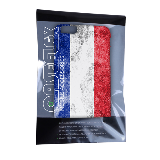 Caseflex iPhone 6 Plus and 6s Plus Retro France Flag Case