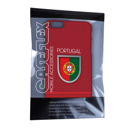 Caseflex iPhone 6 Plus and 6s Plus Portugal World Cup Case