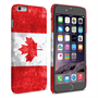 Caseflex iPhone 6 Plus and 6s Plus Retro Canada Flag Case