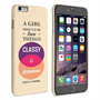 Caseflex iPhone 6 Plus and 6s Plus Chanel 'Classy and Fabulous' Quote Case