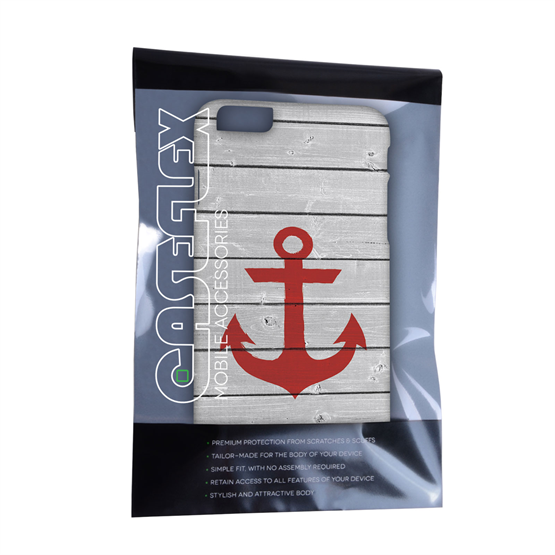 Caseflex iPhone 6 Plus and 6s Plus Rustic Anchor Case