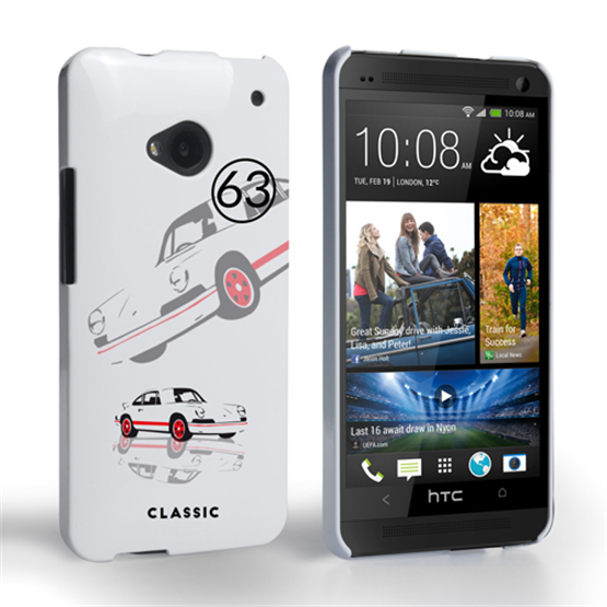 Caseflex Porsche Classic Car HTC One Case
