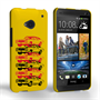 Caseflex Chevrolet Chevelle Classic Car HTC One Case- Yellow