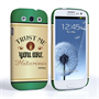 Caseflex Samsung Galaxy S3 Mini Irish Whiskey Quote Hard Case – Green